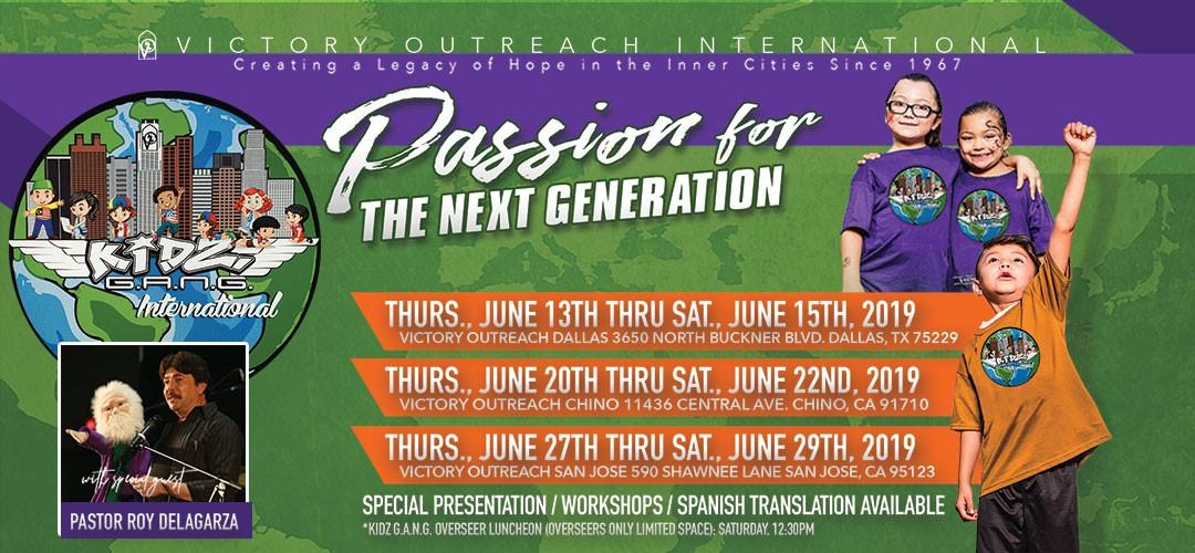 Kidz G.A.N.G Teachers Training 2019Victory Outreach International