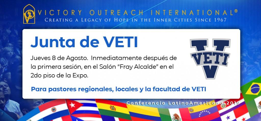 Junta de VETI LatinoAmericana Conferencia