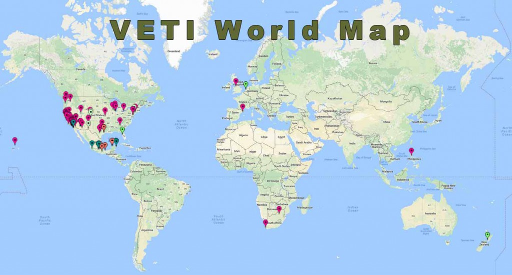 VETI World Map