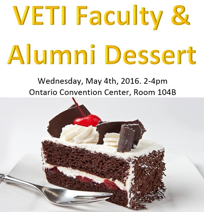 Faculty Alumni Dessert