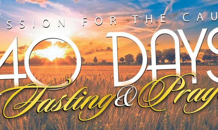 40 days of fasting and prayer pdf