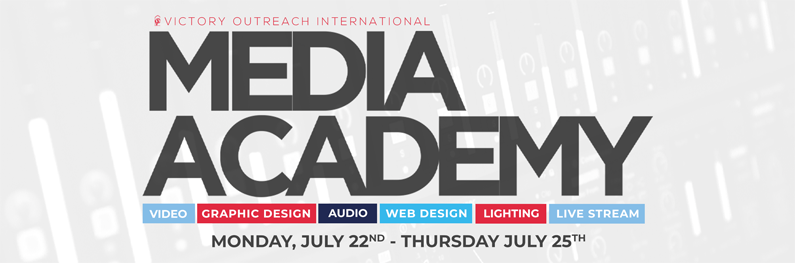 Media Academy header email