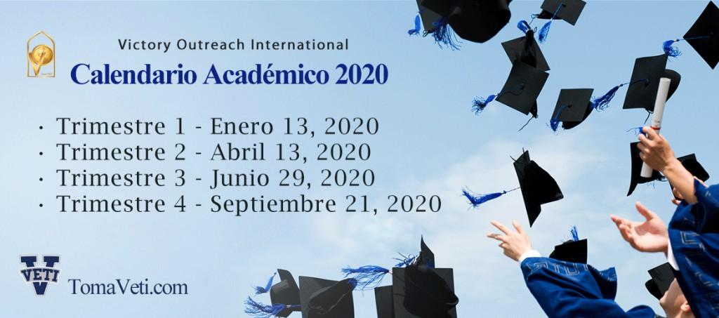 Calendario 2020 MOE