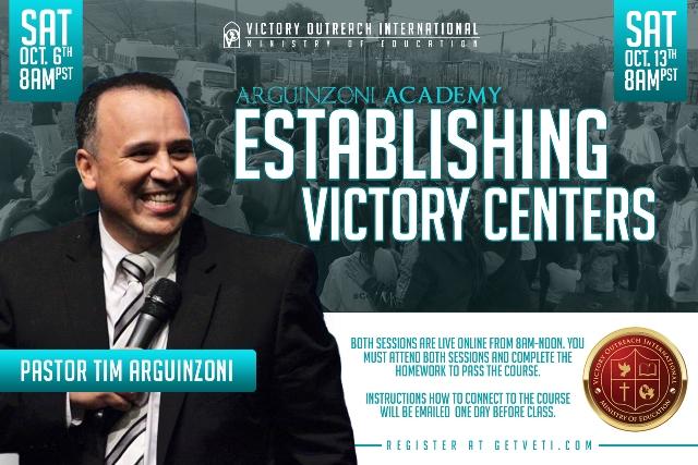 Establishing Victory Centers Web